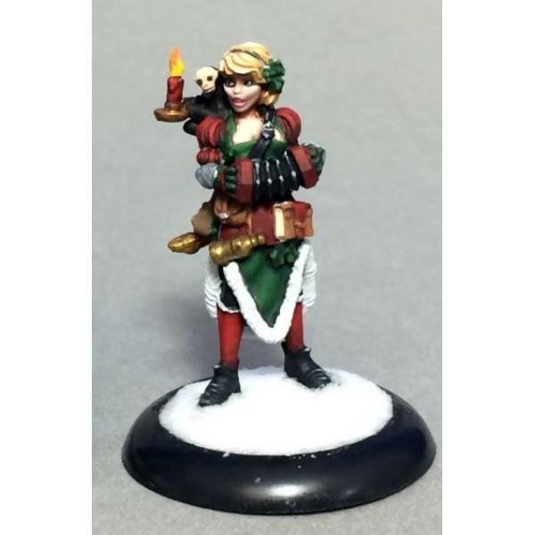 Reaper - Christmas Miniatures - Carol, Christmas Bard