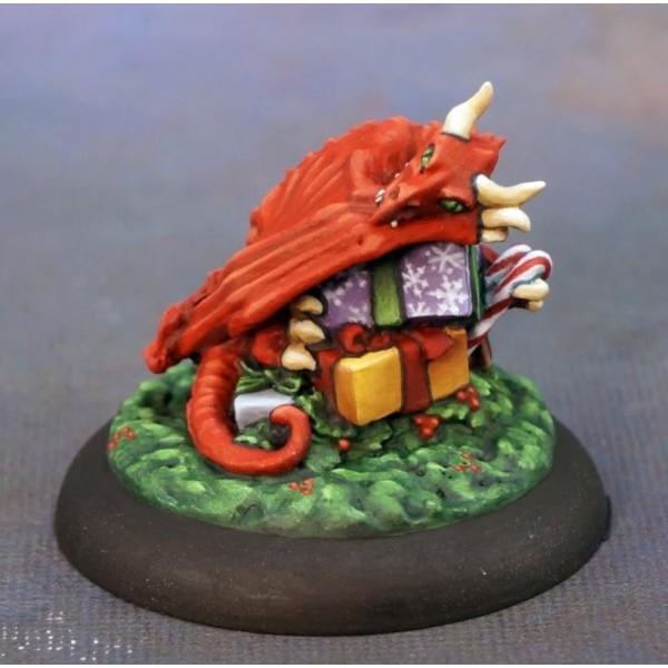 Reaper - Christmas Miniatures - Christmas Dragon Hoard