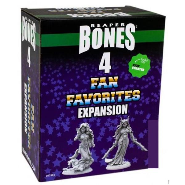 Reaper - Bones 4 - Fan Favorites Expansion Set