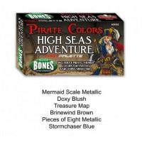 Reaper Fast Palette - MSP Bones Paint Set - High Seas Adventures