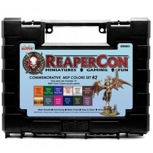 Reaper Master Series Paints - Reapercon 2020 Commemorative Color Set #2