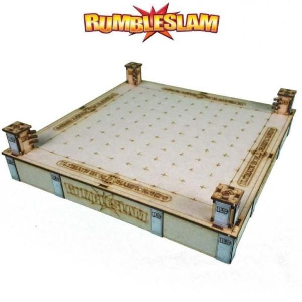 RUMBLESLAM Fantasy Wrestling - Deluxe MDF Ring