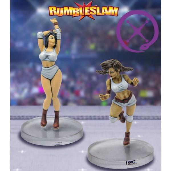 RUMBLESLAM Fantasy Wrestling - Entertainer and High Flyer