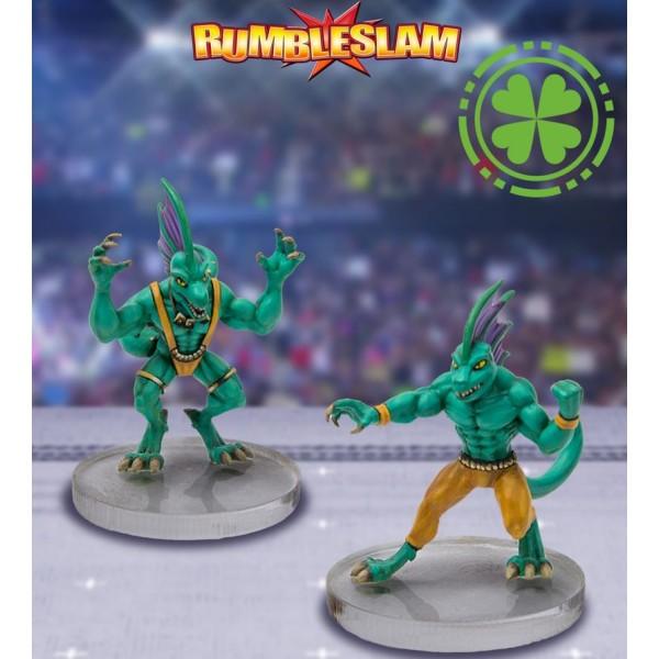 RUMBLESLAM Fantasy Wrestling - Gekko Brawler and Gekko Grappler