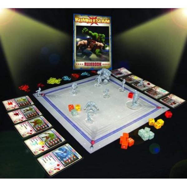 RUMBLESLAM Fantasy Wrestling - 2 player Starter Box