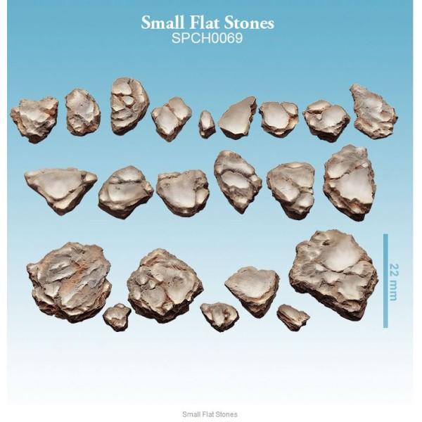 Spellcrow - 28mm Fantasy: Small Flat Stones (22)