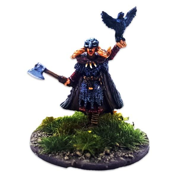 SAGA - 2nd Edition - Age of Magic - Shieldmaiden Warlord (1)