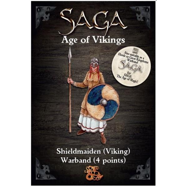 SAGA - 2nd Edition - Age of Magic - Shieldmaiden Warband