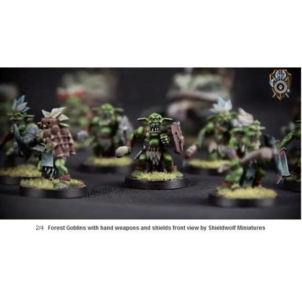 Shieldwolf Miniatures - Forest Goblin Infantry
