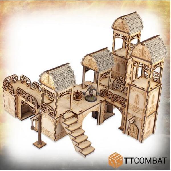 TTCombat - MDF Terrain - Savage Domain - Elven City Gateway