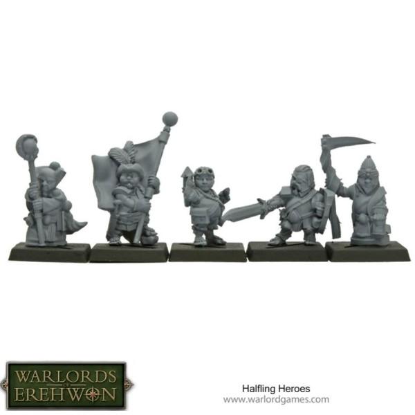 Warlords of Erehwon - TTCOMBAT - Halfling Heroes