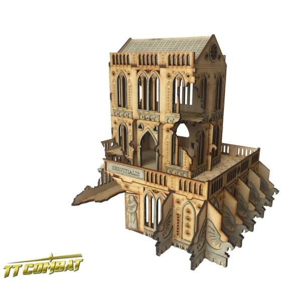 TTCombat - MDF Terrain - Sci-Fi Gothic - Gothic Ruined Servitialis