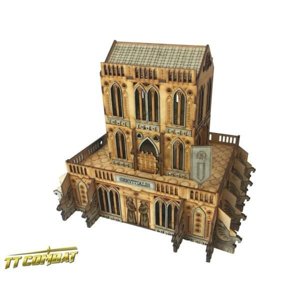 TTCombat - MDF Terrain - Sci-Fi Gothic - Gothic Servitialis