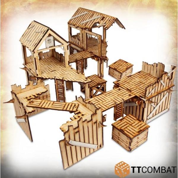 TTCombat - MDF Terrain - Savage Domain - Barbarian Encampment