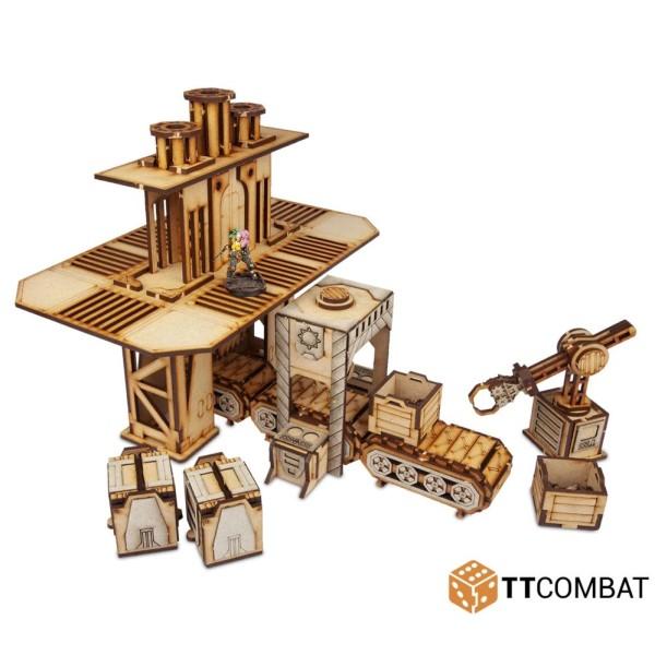 TTCombat - MDF Terrain - Sci-Fi Gothic - Strikezone Factorium