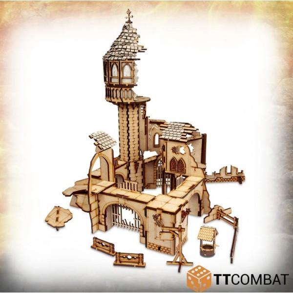 TTCombat - MDF Terrain - Savage Domain - Crumbling Tower