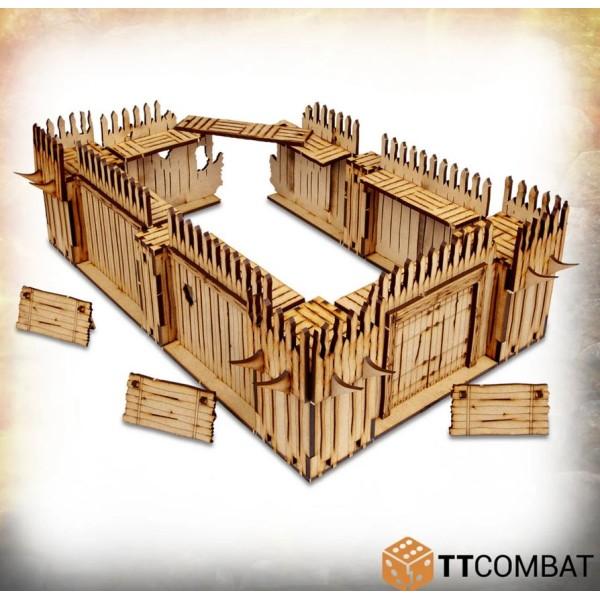 TTCombat - MDF Terrain - Savage Domain - Palisade Walls