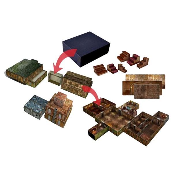 Tenfold Dungeon - RPG Terrain - The Town