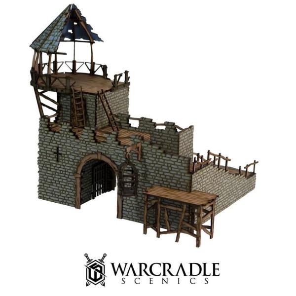 Warcradle Scenics - Gloomburg - Gatehouse