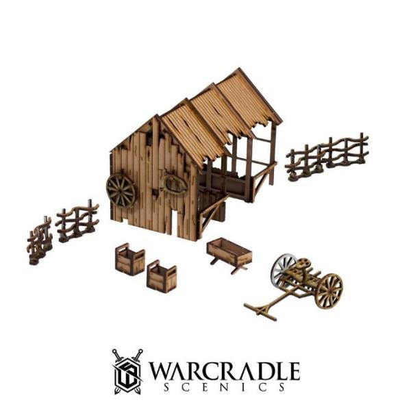 Warcradle Scenics - Gloomburg - Stable