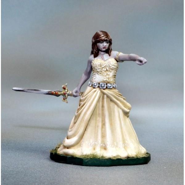 Tomb Guardians - Fantasy Miniatures - Vampire Queen - Queen Valreth