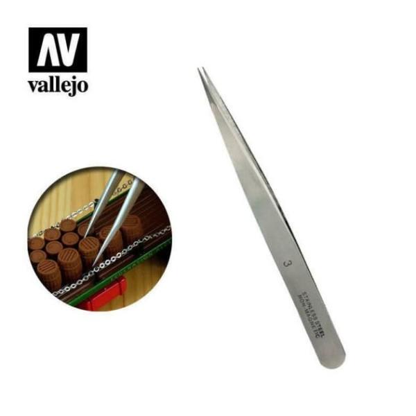 Vallejo - Tools - Stainless steel tweezers #3