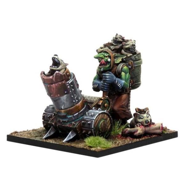 Kings Of War - Vanguard - Goblin Support Pack - Mawpup Launcher