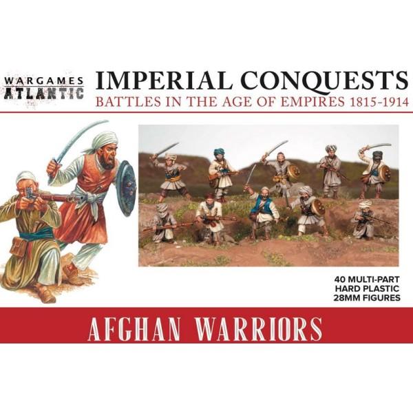Wargames Atlantic - Afghan Warriors - Plastic Boxed Set (40)