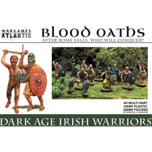 Wargames Atlantic - Dark Age Irish Warriors - Plastic Boxed Set (30)