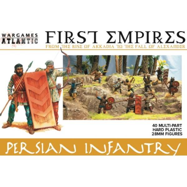 Wargames Atlantic - Persian Infantry - Plastic Boxed Set (40)
