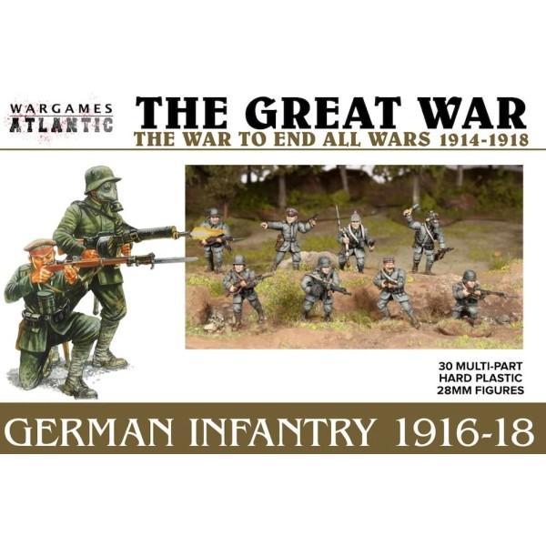 Wargames Atlantic - The Great War - German Infantry (1916-1918)