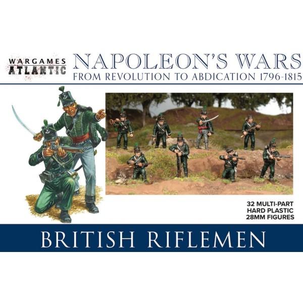 Wargames Atlantic - Napoleon's Wars  - British Riflemen