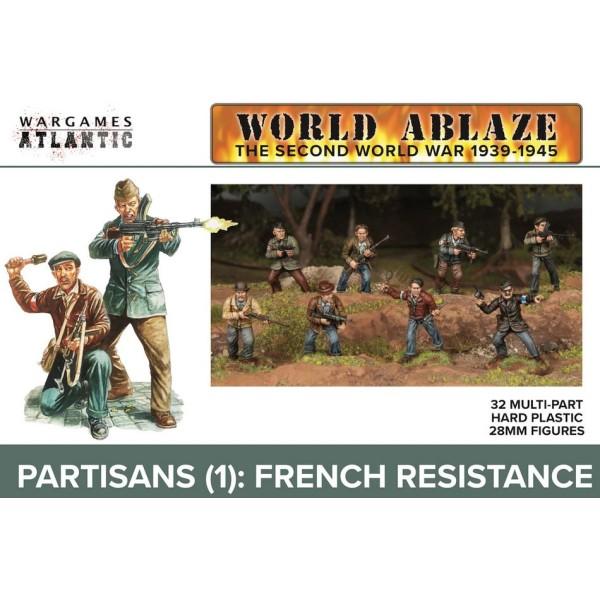 Wargames Atlantic - World Ablaze WWII - Partisans (1) French Resistance