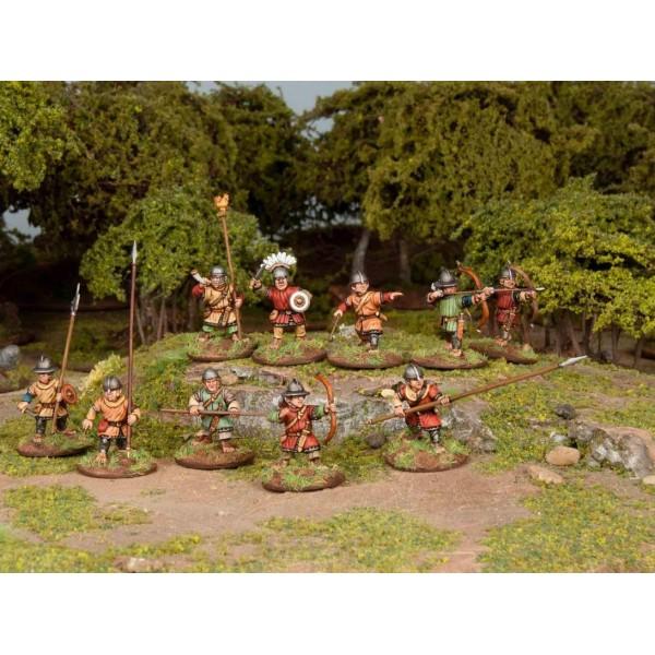 Wargames Atlantic - Classic Fantasy - Halfling Militia - Plastic Boxed Set (40)