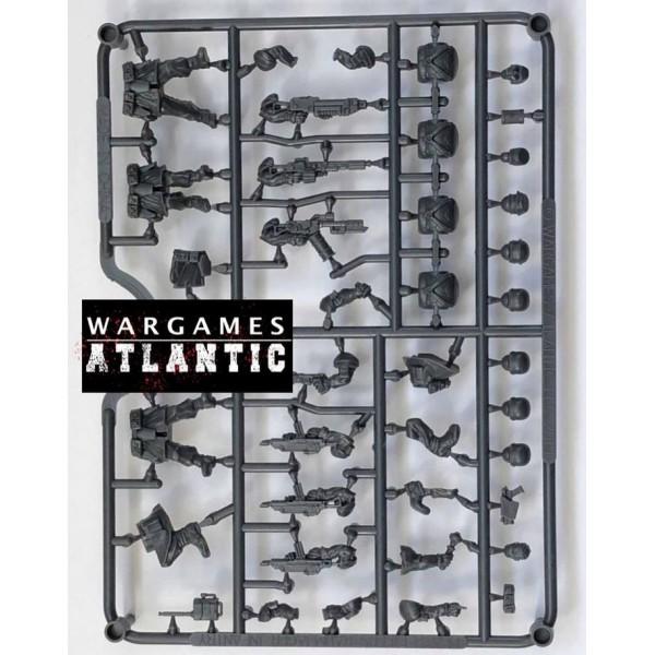 Wargames Atlantic - Raumjäger Infantry Box Set - Plastic Boxed Set (24)