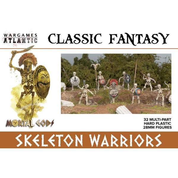 Wargames Atlantic - Skeleton Warriors - Plastic Boxed Set (32)