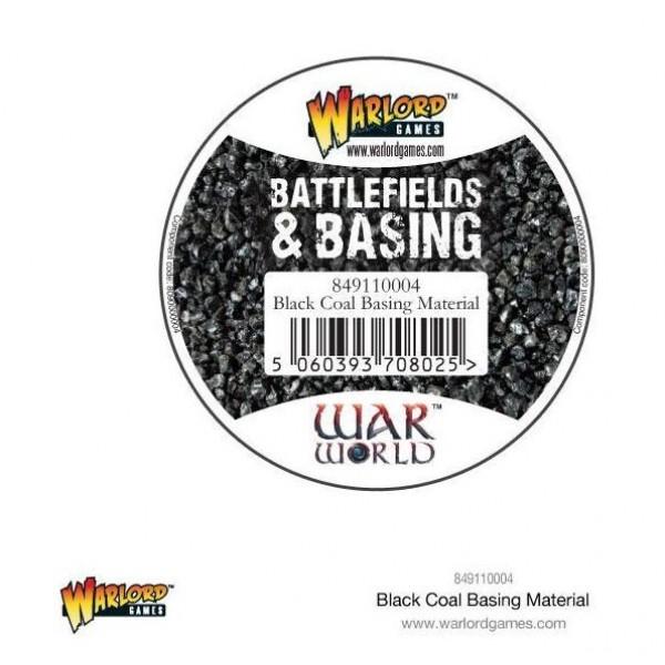 Warlord Scenics - Black Coal Basing Material - 180ml