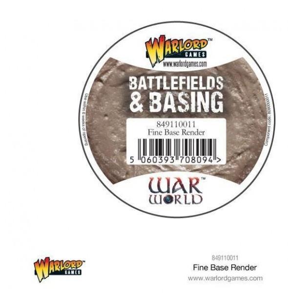 Warlord Scenics - Fine Basing Render - 180ml