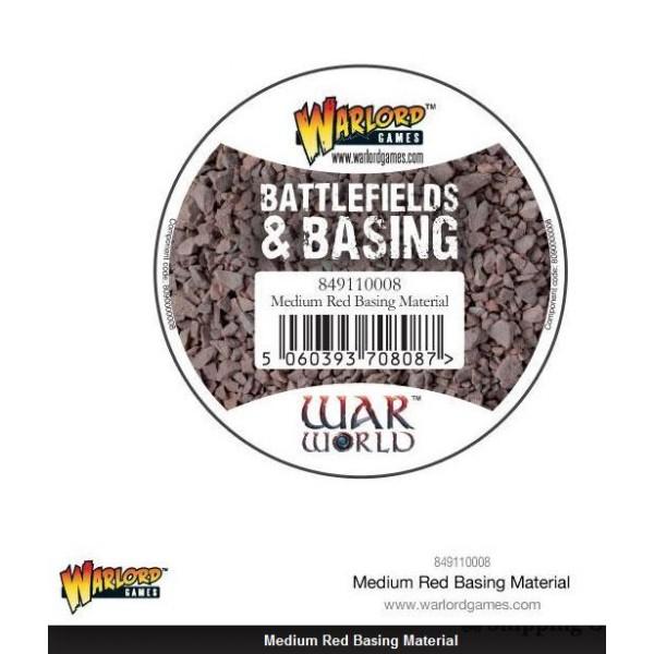Warlord Scenics - Medium Red Basing Material - 180ml