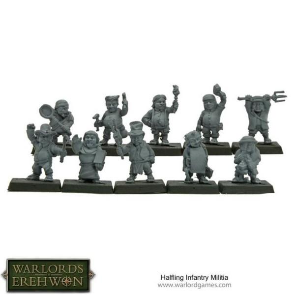 Warlords of Erehwon - TTCOMBAT - Halfling Militia