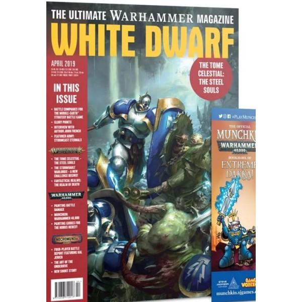White Dwarf Magazine - April 2019