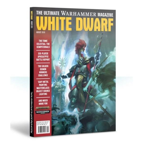 White Dwarf Magazine - August 2019
