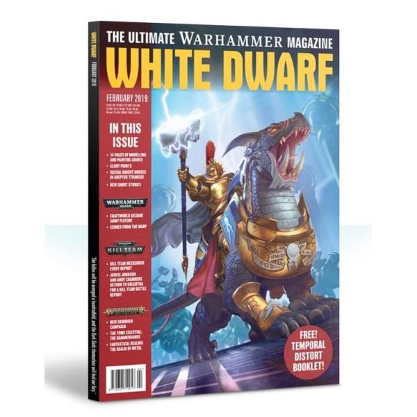 White Dwarf Magazine - February 2019