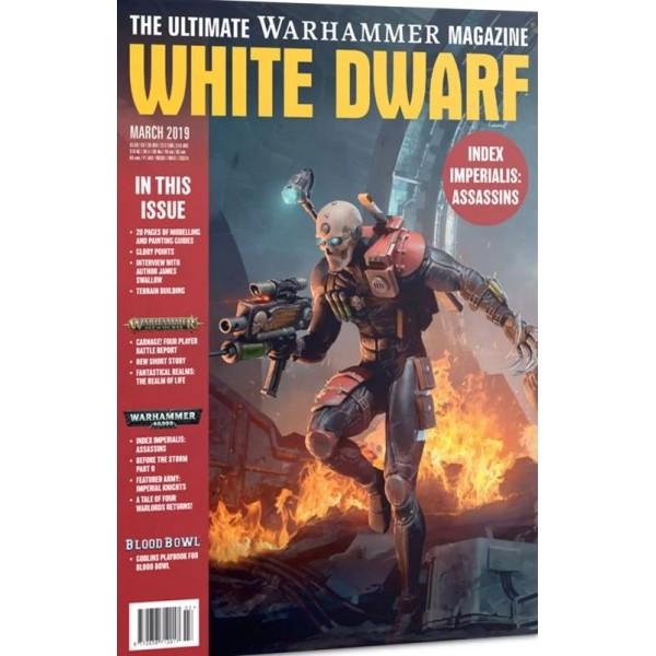 White Dwarf Magazine - March 2019