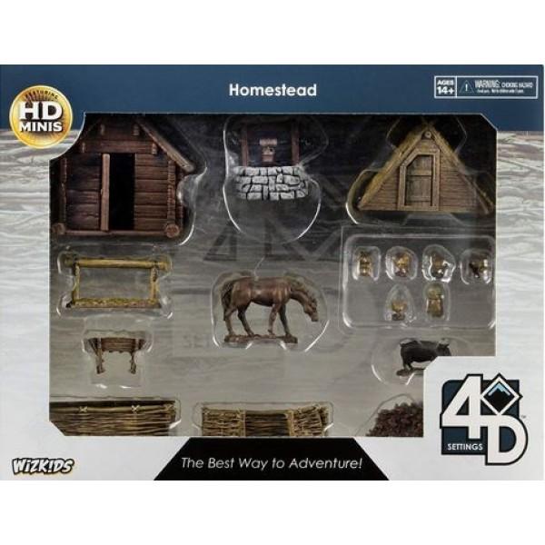 WizKids - Fantasy RPG Terrain - Pre-painted 4D Setting - Homestead