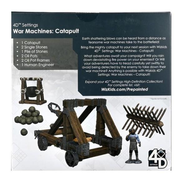 WizKids - Fantasy RPG Terrain - Pre-painted 4D War Machines - Catapult
