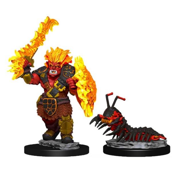 Wizkids - Wardlings - Fire Orc & Fire Centipede