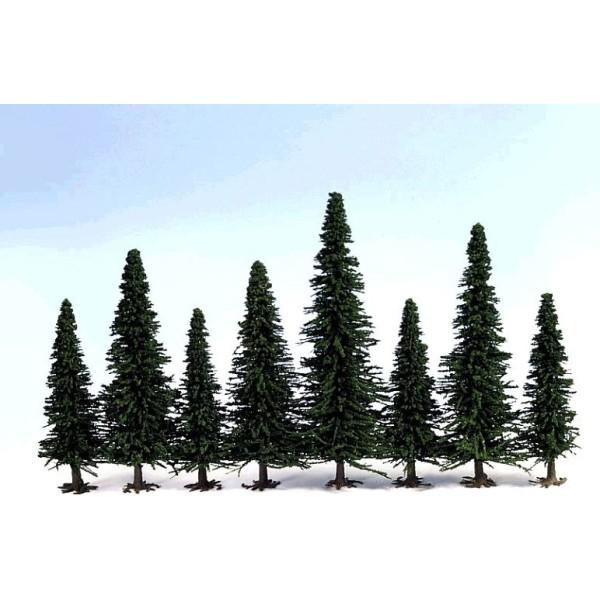 Ziterdes - Model Fir Trees - 170-220mm (10 trees)