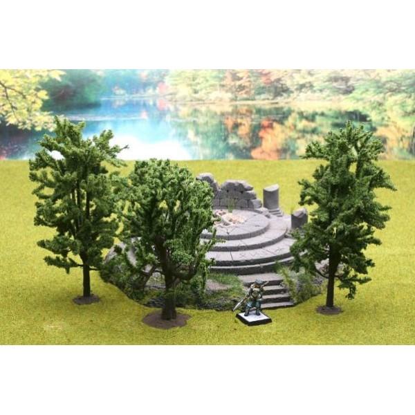 Ziterdes - Fable Forest - Model Deciduous Trees - mix Horse Chestnut, Oak, Linden