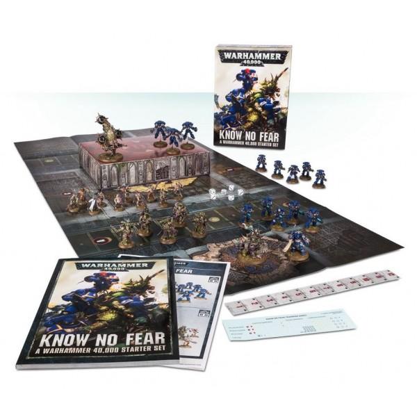 Warhammer 40K - Know No Fear - Boxed Starter Set